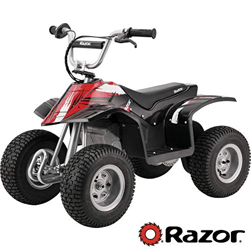 Razor Dirt Quad Electric Four-Wheeled Off-Road Vehicle - Black