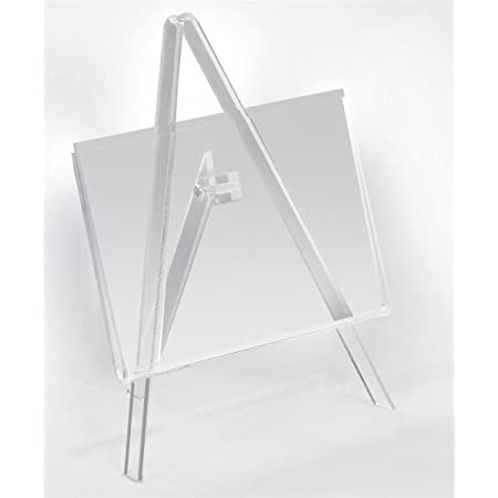 """2x 5/""""9/""""11/"""" Clear Plastic Plate Photo Display Stand Picture Frame Easel Holder SA"""