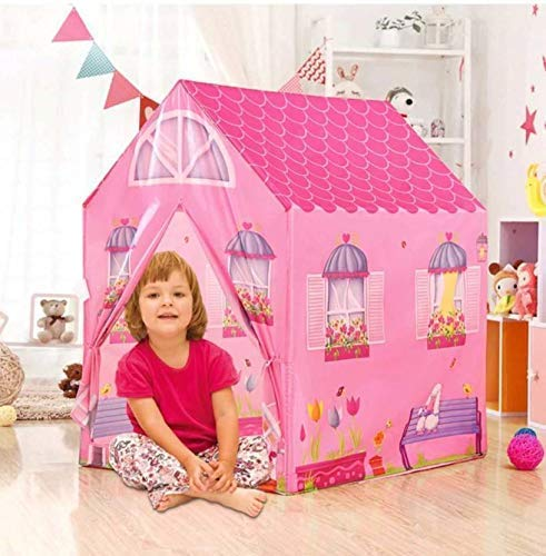 Ajudiya's® Jumbo Size Extremely Light Weight , Water Proof Kids Play Tent House for 10 Year Old Girls and Boys (Super Store Tent)