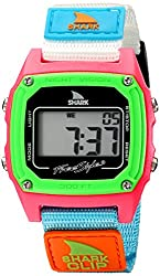 top 10 freestyle watch band FS84861 Shark Clip Nylon Classic Ladies Freestyle Retro Digital Watch