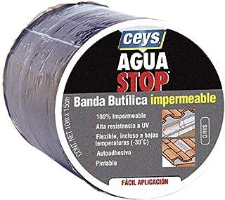 AGUA STOP BANDA BUTILICA IMPERMEABLE CEYS (30 CM X 10 M, GRIS)