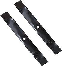 GX22151 (2) Lawn Mower Blades for John Deere D100 D105 D110 D120 D125 D130