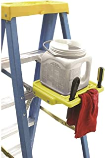 WERNER LADDER PK76-9 Werner Pk76 2-Piece Universal Pail Shelf, Plastic, Aluminum Arm