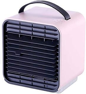 Luftkylare, 3 i 1 USB bärbar mini luftkonditionering, 3 växelhastighets `uppladdningsbart skrivbord kylfläkt för hemmakont...