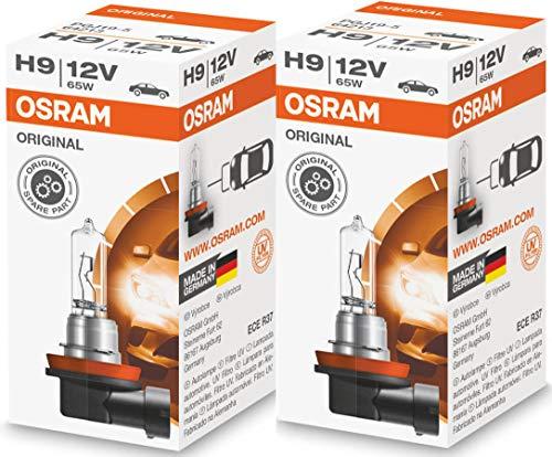 OSRAM 2x BOMBILLAS H9 12V 65W PGJ19-5 ORIGINAL LINE 64213