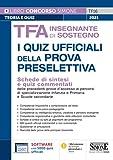 TFA Insegnante di sostegno - I quiz ufficiali della prova preselettiva