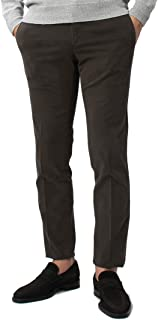 PT01 SUPER SLIM FIT CLOUD COTTON リヨセル コットン ピーチスキン ストレッチ ノープリーツ スラックス [並行輸入品]