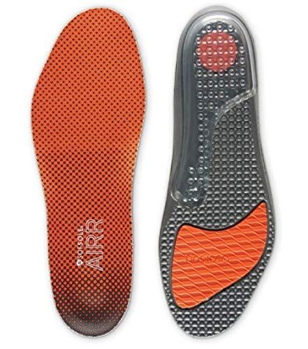SOFSOLE Airr Komfort Sport-Geleinlage mit Luftkissen-Fersendämpfung für höchsten Laufkomfort Damen Herren + gratis 1p Sportsocken (45-46 EU)