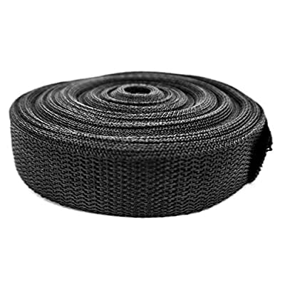 Black Webbing - 50' Roll - Fastens Electric Fence Insulators