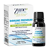 Zane Hellas Immune Premium Total Immune Support. Multiple Defense System. Wellness Support. Provides Strong Antioxidants. 100% Liquid Herbal Solution. 0.5 fl.oz. - 15ml