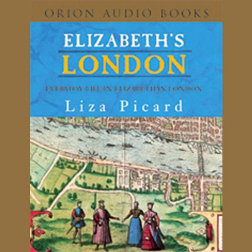 Elizabeth's London audiobook cover art