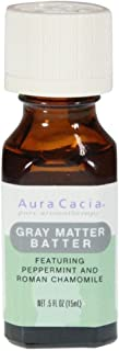 Aura Cacia Gray Matter Batter Aromatherapy Essential Solutions 1/2 Oz. Bottle