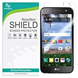 RinoGear Screen Protector for LG Fiesta LTE/Fiesta 2 Case Friendly LG Fiesta LTE/Fiesta 2 Screen Protector Accessory Full Coverage Clear Film