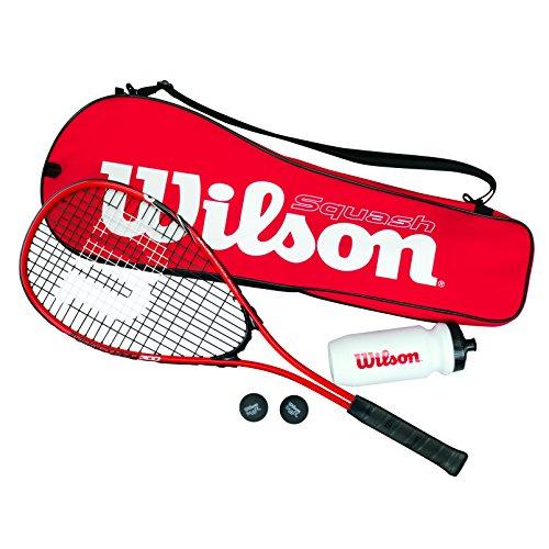 Wilson WRT913100 Kit de Squash, Starter Squash...
