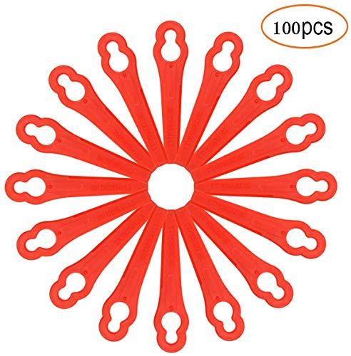 Stück Rasenmäherklinge Akku-Rasentrimmer Kunststoffmesser für FRT18A FRT18A1 Art 46155 FRT20A1 Lidl IAN 282232