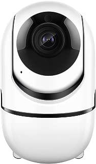 Extaum Cámara IP 1080P inalámbrico con detección de Movimiento Seguimiento de Alarma de Voz P/T/Z, Registro de Tarjeta TF, Audio de 2 vías y visión Nocturna para Seguridad en el hogar