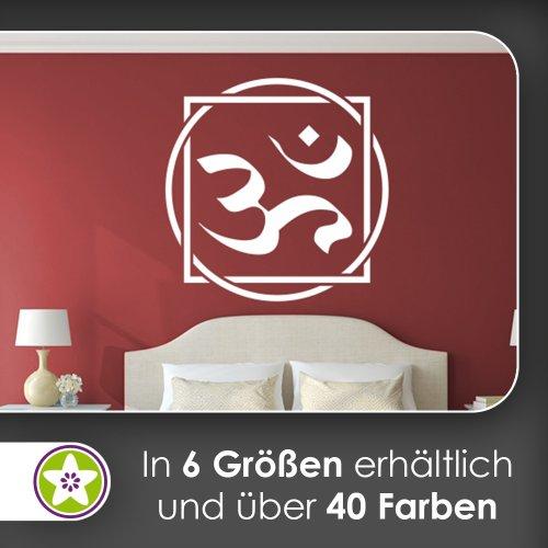 Kiwistar Om Wandtattoo in 6 Größen - Wandaufkleber Wall Sticker