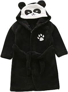 comprar comparacion QitunC Niños Chica Chico Albornoz Camisón Animales Suave Ropa De Dormir Unisex Pijama