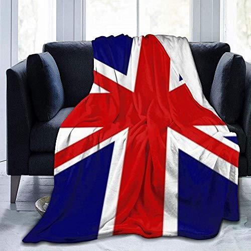 HDAXIA Coperte,Bandiera Union Jack, Calda Morbidissima Flanella in Pile Leggera Coperta Divano Letto Soggiorno Camera da Letto per Bambini Adulti
