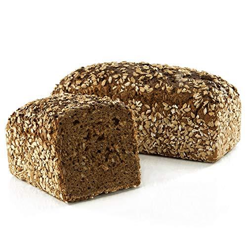 Vestakorn Handwerksbrot, Grobes Vollkornbrot 1kg - frisches Brot - Natursauerteig, selbst aufbacken in 10 Minuten