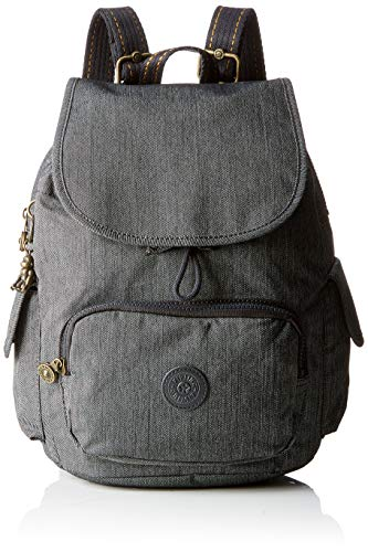 Kipling Damen City Pack S Rucksack, Schwarz (Black Indigo), 27x33.5x19 Centimeters