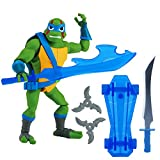 Rise of the Teenage Mutant Ninja Turtles 80801 ROTMNT Leonardo Basic Action Figur, mehrere Farben