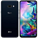 LG G8X ThinQ (128GB, 6GB) 6.4', Dual Camera, Snapdragon 855, 4G LTE GSM AT&T Unlocked (T-Mobile, Metro) US Warranty LM-G850UM (Aurora Black)