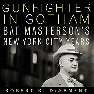 Gunfighter in Gotham audiobook cover art