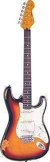 Vintage Guitars Icon V6 Electric Guitar - Distressed Sunburst