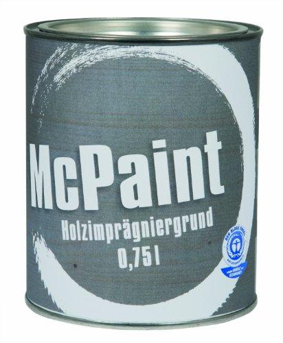 McPaint Holzimprägniergrund aussen Farblos 0,75L