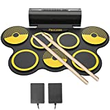 7 Pads Electronic Drum Set Yellow