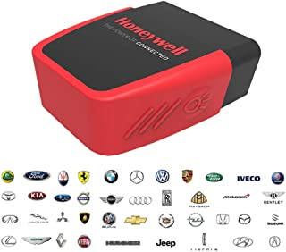 AUTDER Honeywell Professional OBD Bluetooth Scanner Diagnostic Scan Tool OBD2 Code Reader Car Health Monitor for iOS & Android Devices