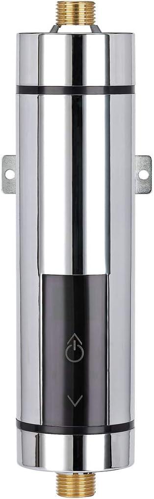 Elektrischer Durchlauferhitzer Durchlauferhitzer Temperaturanzeige effiziente Heizung Küche Dusche Universal (Küche Bad)