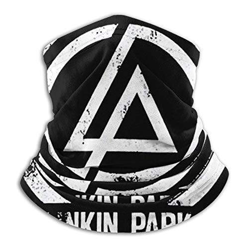 Nanobibi Multifuncional uso turbante cuello polaina mas-k pasamontañas anti-UV polvo calentador de cuello unisex Linkin Park