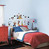 window wall decal sticker - RoomMates Mickey & Friends Peel and Stick Wall Decal - RMK1507SCS, Mickey&Friends