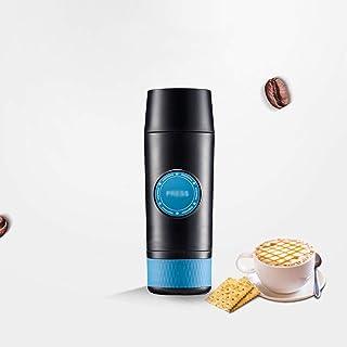 MJYDQ Mini Espresso Cafetière Portable Chaude et Froide d'extraction Machine à café électrique USB en Poudre Making