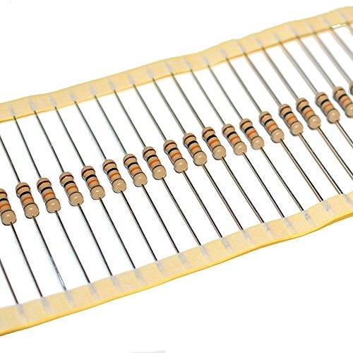 Widerstand nach Auswahl, 30 Stück,12 Werte zur Auswahl, Kohleschicht 0.25W 5% Widerstände Resistor elpohl® (120 Ohm)