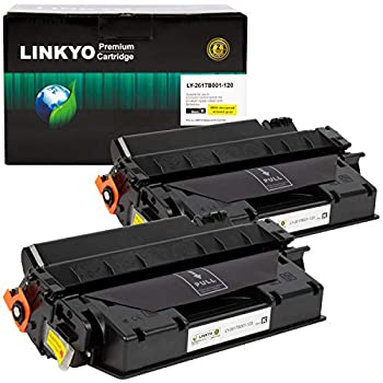 LINKYO Compatible Toner Cartridge Replacement for Canon 120  Black High Yield 2-Pack
