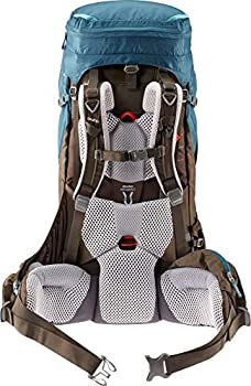 deuter AircontactProSL Sac à dos de trekking pour femme, Bleu arctique/Café (arctic-coffee), 80L