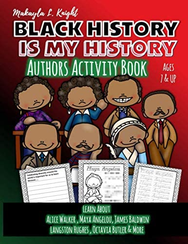 Black History Is My History Authors Gift for African American Children 7 10 Coloring and Writing product image