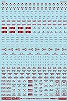 GM-009 1/100 GMコーションデカールNo.3「アヴィエーションテイスト・日本語表記#1」レッド