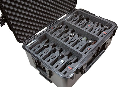 Case Club Waterproof 15 Pistol Case with Silica Gel