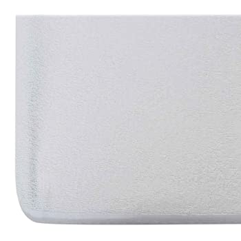 "Wakefit Water Proof Terry Cotton Mattress Protector- 78"" x 72""/1.98 m x 1.83 m, King Size, White"