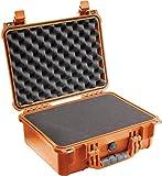 Peli 1450 - Maleta con espuma para cámara, naranja