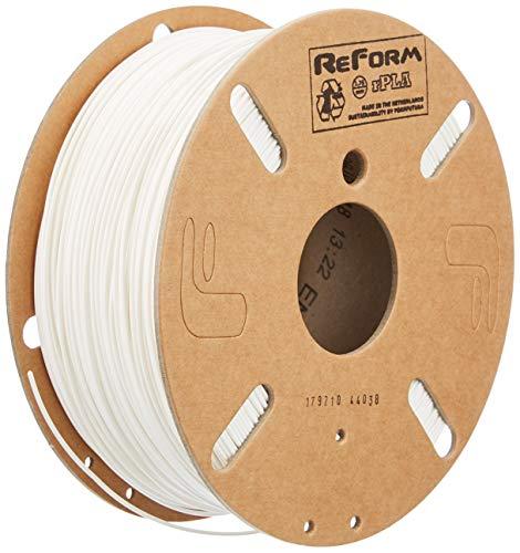 Formfutura 175RPLA-WHT-1000 - Filamento stampante 3D Polylactic Acid, colore: Bianco