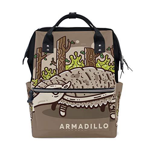 ALINLO Armadillo - Bolsas de pañales para momia, gran capacidad, multifunción, mochila para viajes