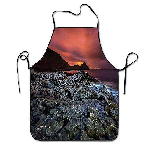 Belichtung der Giants-Damm-netten kochenden Schürzen Erwachsene, justierbare Schürze für das Kochen, Backen, Grill
