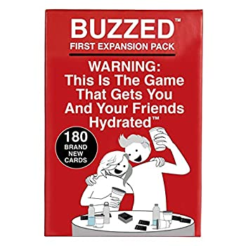Buzzed - The Hilarious Party Game That Will Get You & Your Friends Hydrated - Expansion Pack #1