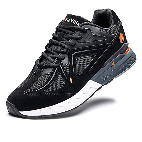 FitVille Extra Wide Walking Shoes for Men Wide Width Sneakers for Flat Foot Plantar Fasciitis Arch...