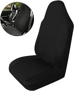 Garneck Capa universal para assento de carro, capa para assento de carro dianteiro, almofada protetora, antiderrapante, ma...